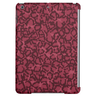 Hot Pink Cat Print Case For iPad Air