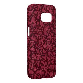 Hot Pink Cat Samsung Galaxy S7 Case