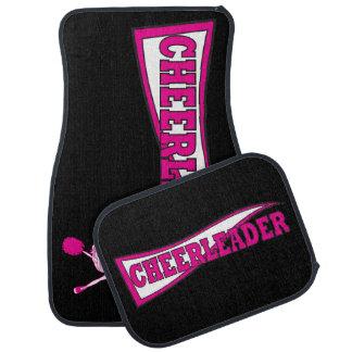 Hot Pink Cheerleader Car Mats Floor Mat