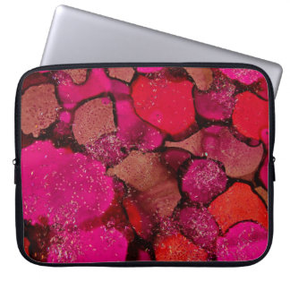 """""""Hot Pink"""" collection neoprene laptop sleeve"""