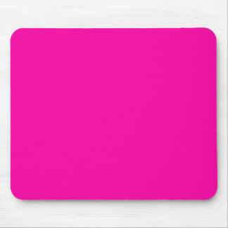 Hot Pink Color Only Custom Design Mouse Pad