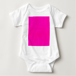 Hot Pink Color Only - The World Without Design Baby Bodysuit