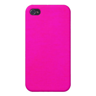Hot Pink Color Only - The World Without Design iPhone 4 Covers