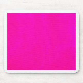 Hot Pink Color Only - The World Without Design Mousepad