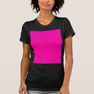 Hot Pink Color Only - The World Without Design T-shirts
