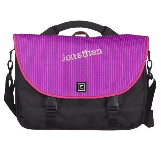 Hot Pink Corrugated Cardboard Laptop bag Template