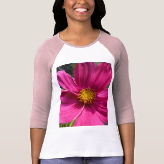 Hot Pink Cosmos Photo T-Shirt