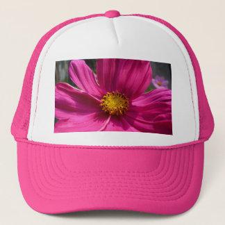 Hot Pink Cosmos Photo Trucker Hat