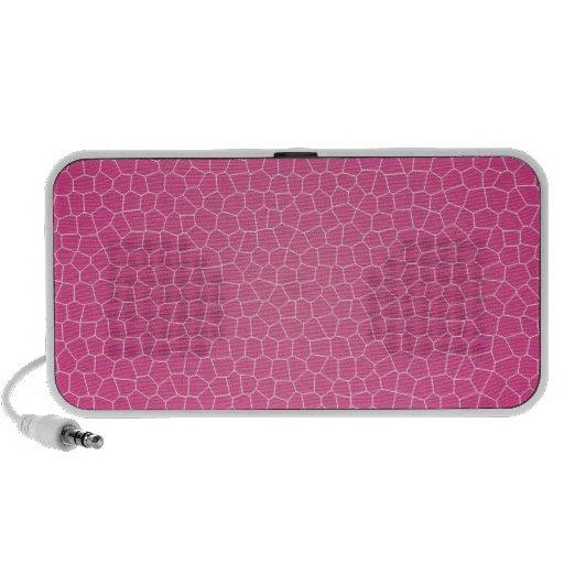 Hot Pink Crackle Speaker