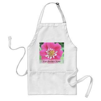 Hot Pink Dahlia Flower Aprons