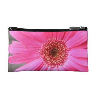 Hot Pink Daisy Makeup Bag