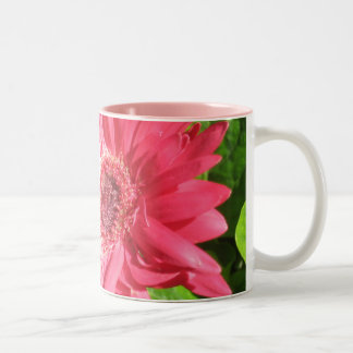 Hot Pink Daisy Coffee Mug