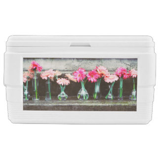 Hot Pink Daisy Ice Chest