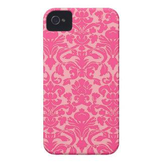 Hot Pink Damask Lace Pattern Blackberry Bold Case