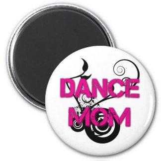 Hot Pink Dance Mom Magnet