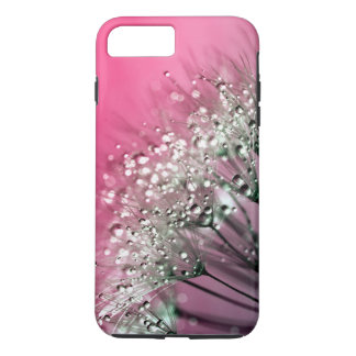 Hot Pink Dandelion iPhone 7 Plus Case