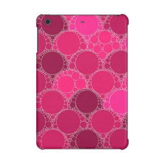 Hot Pink Dark Pink Abstract iPad Mini Retina Cover
