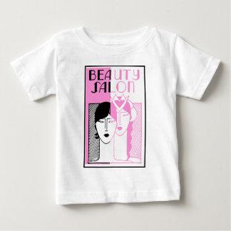 Hot Pink Deco Beauty Shop Baby T-Shirt