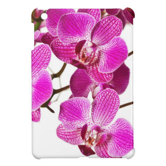 Hot Pink Dendrobium Orchid - Orchids Background iPad Mini Case