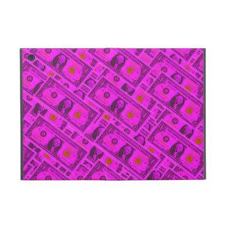 Hot Pink Dollar Bill iPad Mini Case