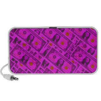 Hot Pink Dollar Bill Speaker