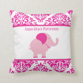 Hot Pink Elephant Pillows