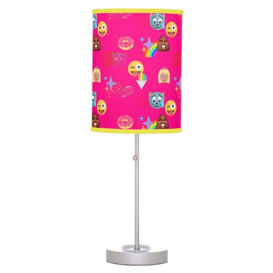 hot pink emoji lamp | Zazzle.com