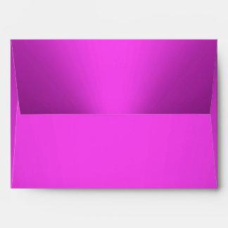 Hot Pink Envelope 5 x 7