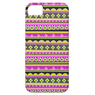 Hot Pink ethnic pattern iPhone SE/5/5s Case