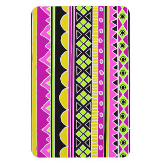 Hot Pink ethnic pattern Magnet