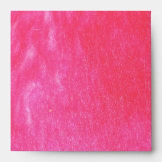 Hot Pink Faux Fur Envelopes