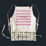 "hot pink,faux glitter,girly,teen,chevron,zigzag,pa zazzle HEART apron<br><div class=""desc"">hot pink, faux glitter, girly, teen, chevron, zigzag, pattern, modern, trendy</div>"