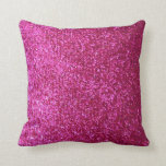 "Hot Pink Faux Glitter Throw Pillow<br><div class=""desc"">NOTE: PRODUCT DOES NOT CONTAIN ACTUAL GLITTER. IT IS A GLITTER GRAPHIC. &quot;hot pink&quot;, pink, glitter, glittery, sparkle, sparkles, sparkly, sparkley, sparkling, glittering, glitters, shiny, shine, blue, elegant, stylish, girly, girl, girls, bling, cute, fun, shiney, fashion, fashionable, trendy, soft, focus, modern, contemporary, pretty, sequin, sequins, glam, glamor, glamorous, glamour, style,...</div>"