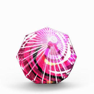 Hot Pink Ferris Wheel Acrylic Award