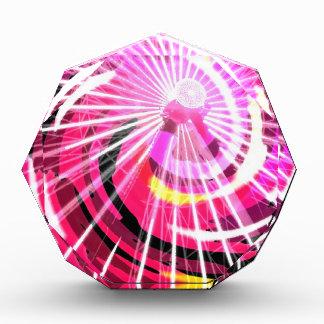Hot Pink Ferris Wheel Award