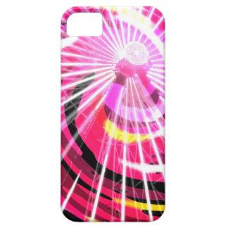 Hot Pink Ferris Wheel iPhone SE/5/5s Case