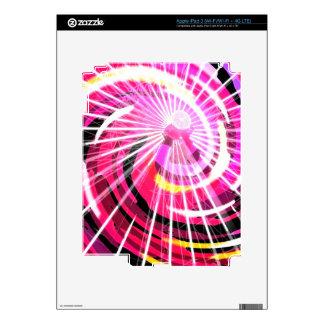 Hot Pink Ferris Wheel iPad 3 Decal