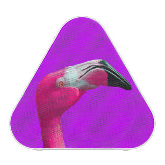 Hot Pink Flamingo Pieladium Bluetooth Speaker