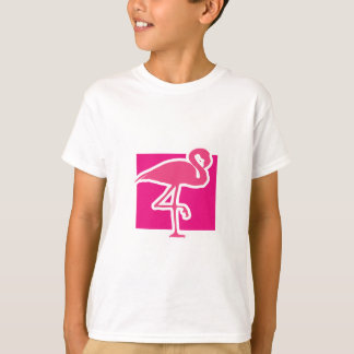 Hot pink flamingo T-Shirt