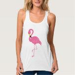Hot Pink Flamingo Tank Top