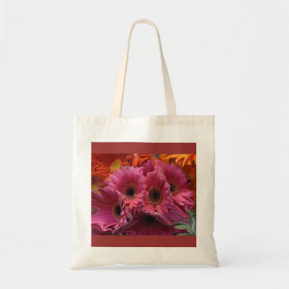 Hot Pink Flowers bag