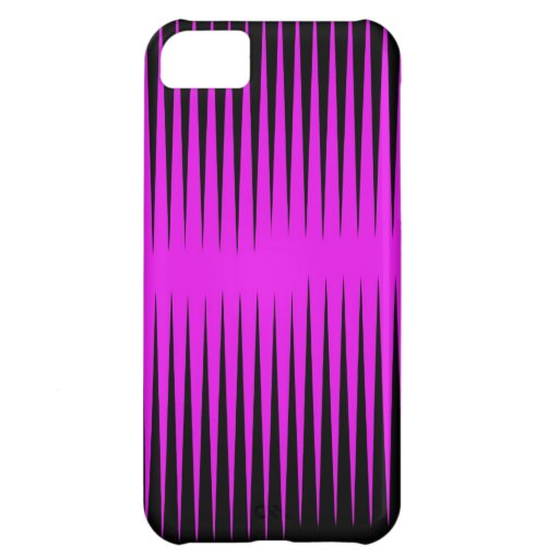 Hot Pink Frequency iPhone 5C Cases