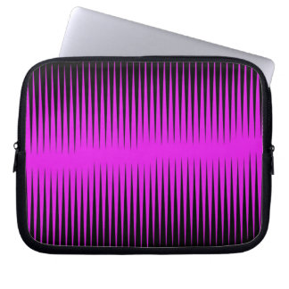 Hot Pink Frequency Laptop Sleeve