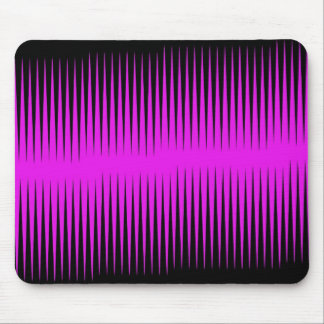 Hot Pink Frequency Mousepad