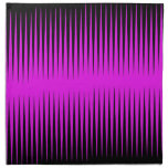 Hot Pink Frequency Napkin