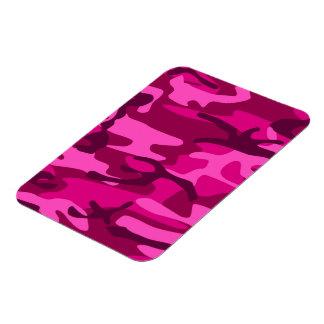 Hot Pink Fuchsia Camo Camouflage Girly Pattern Magnet