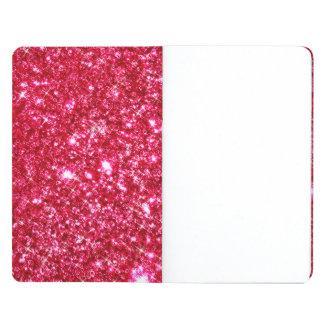hot pink fuchsia tiny sequin glitter journal
