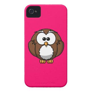 Hot Pink Fuschia Owl iPhone Case iPhone 4 Cases