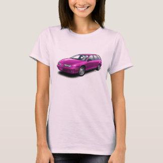 Hot Pink Gen 2 Saturn SW2 on Pink T-Shirt
