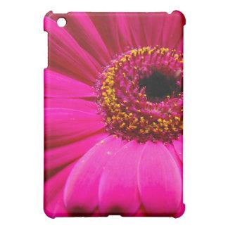 hot pink gerber daisy iPad mini cover
